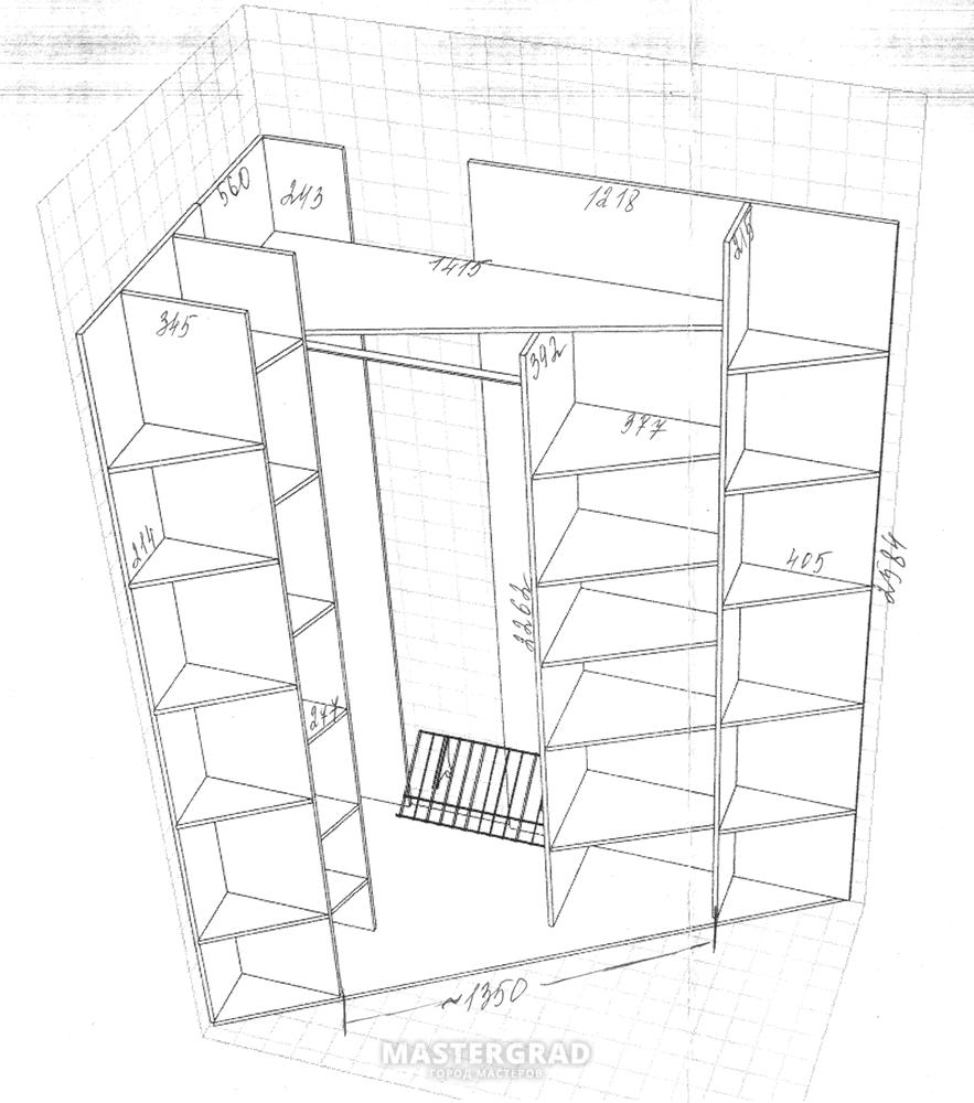 Как сделать шкафы для лоджий своими руками 59