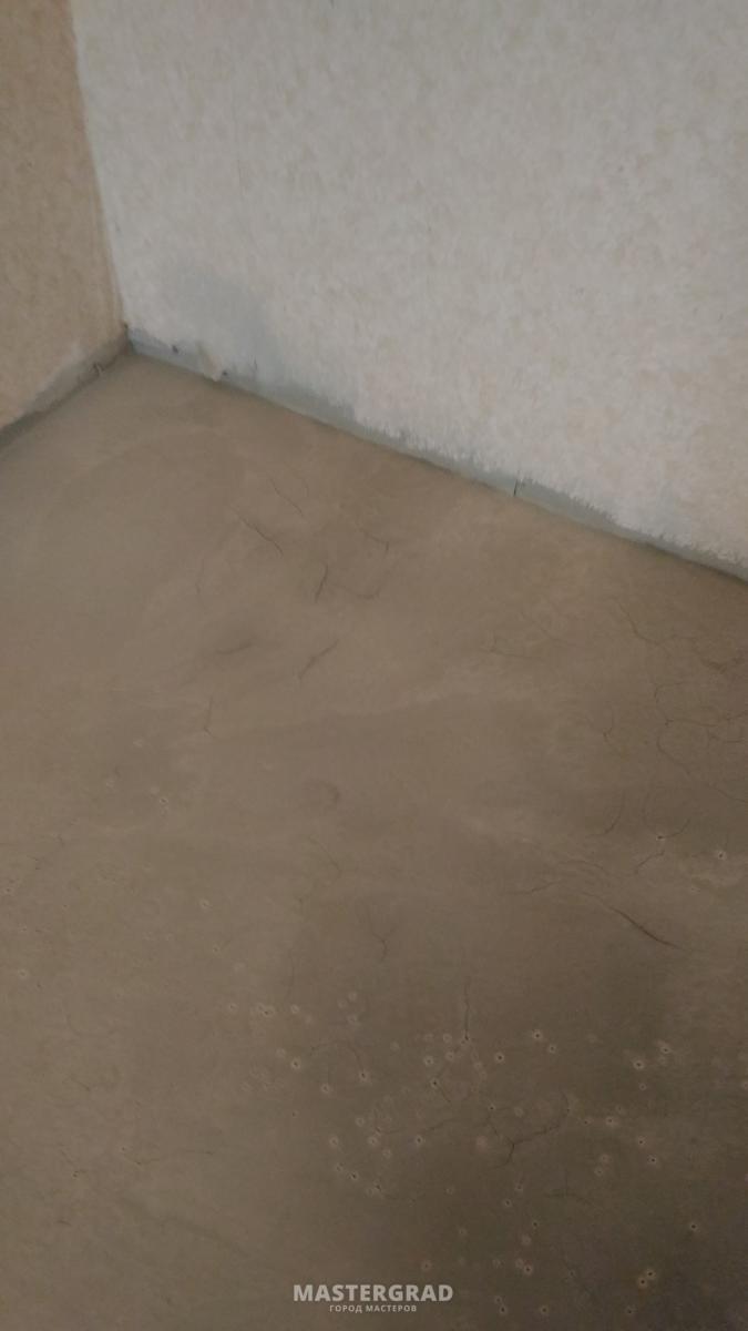 Можно ли использовать наливной пол вместо штукатурки как выравнить старый пол под полиуретановые полы