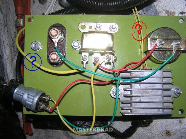 скачать электросхему мотоблока кентавр