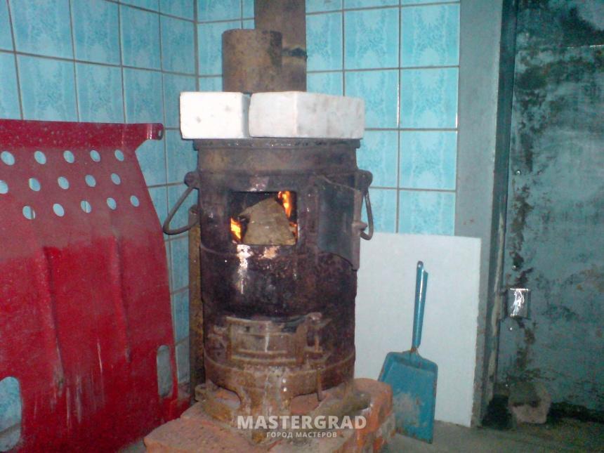 Теплоаккумулятор для буржуйки
