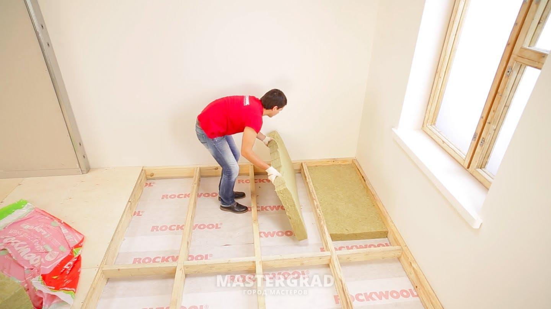 Как утеплить деревянные полы в квартире своими руками