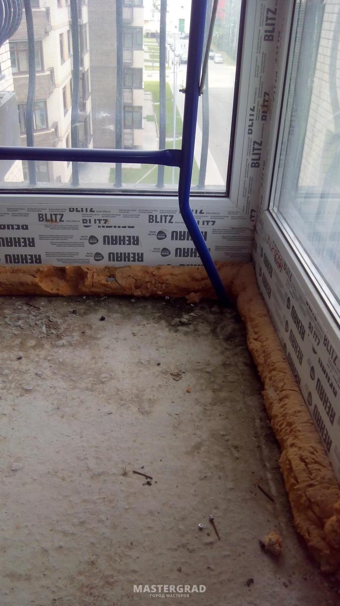 Стяжка на балконе (эппс, цпс, герметик) - фото- форум master.