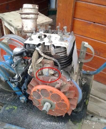 Перебрать двигатель мотоблока