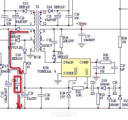 Viper20a схема включения