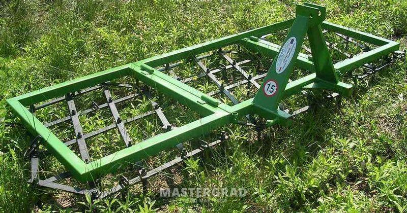 Как сделать сцепку на трактор