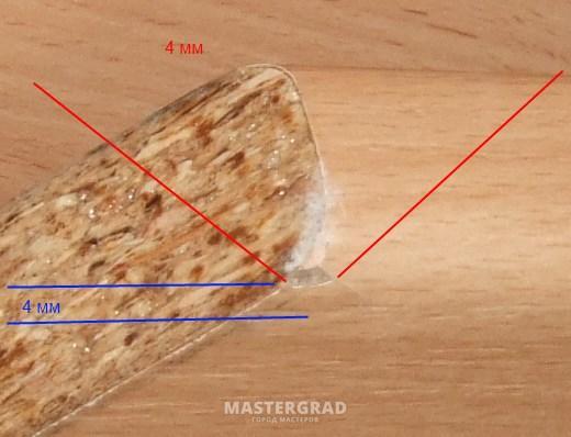Столешница скол чем замазать кухонная столешница из искусственного камня отзывы