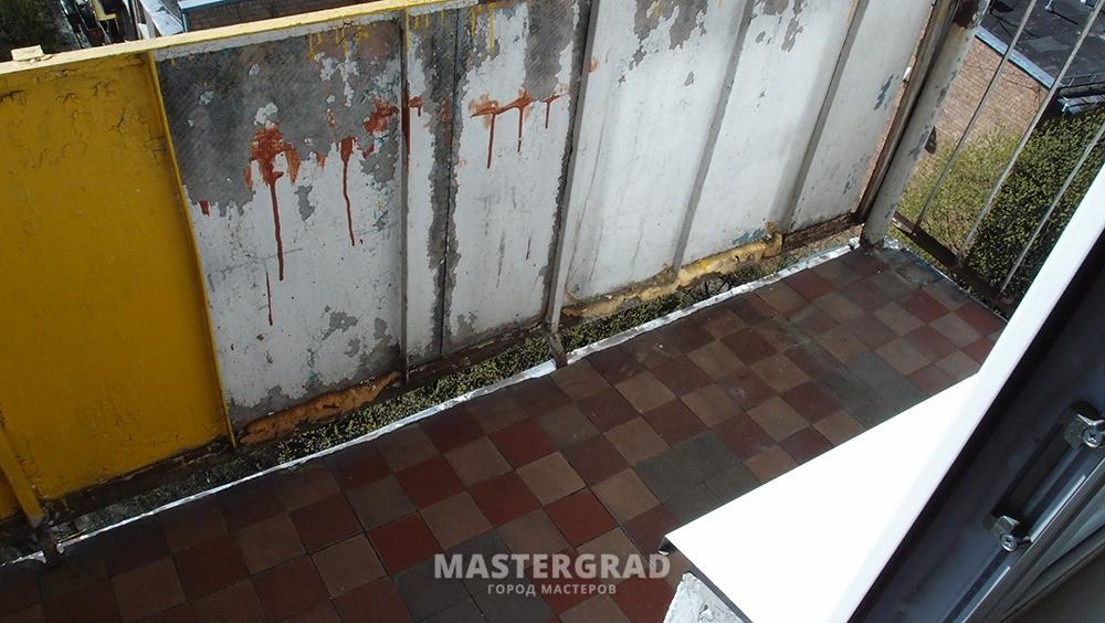 Пол на холодном балконе - фото- форум mastergrad.