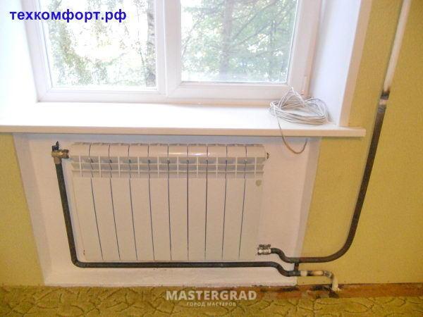 Биметаллический радиатор греется не целиком - фото - страниц.