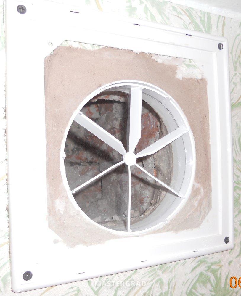 схема вентканалов 9 ти этажный дом