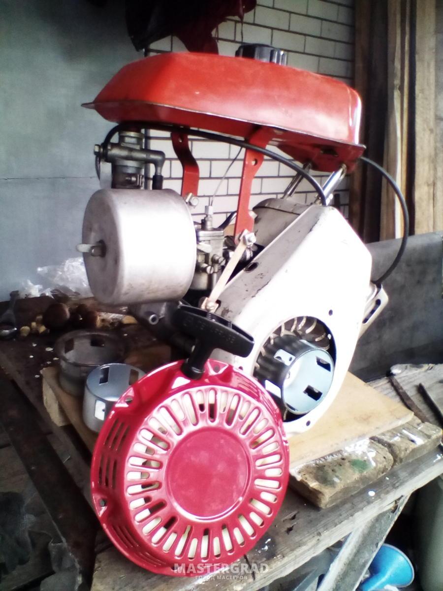 Замена двигателя на крота своими руками 83