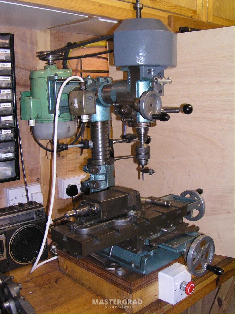 Переделка сверлильного станка в фрезерный. Конференция 69