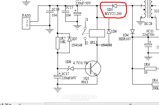 схема включения 5m0365r