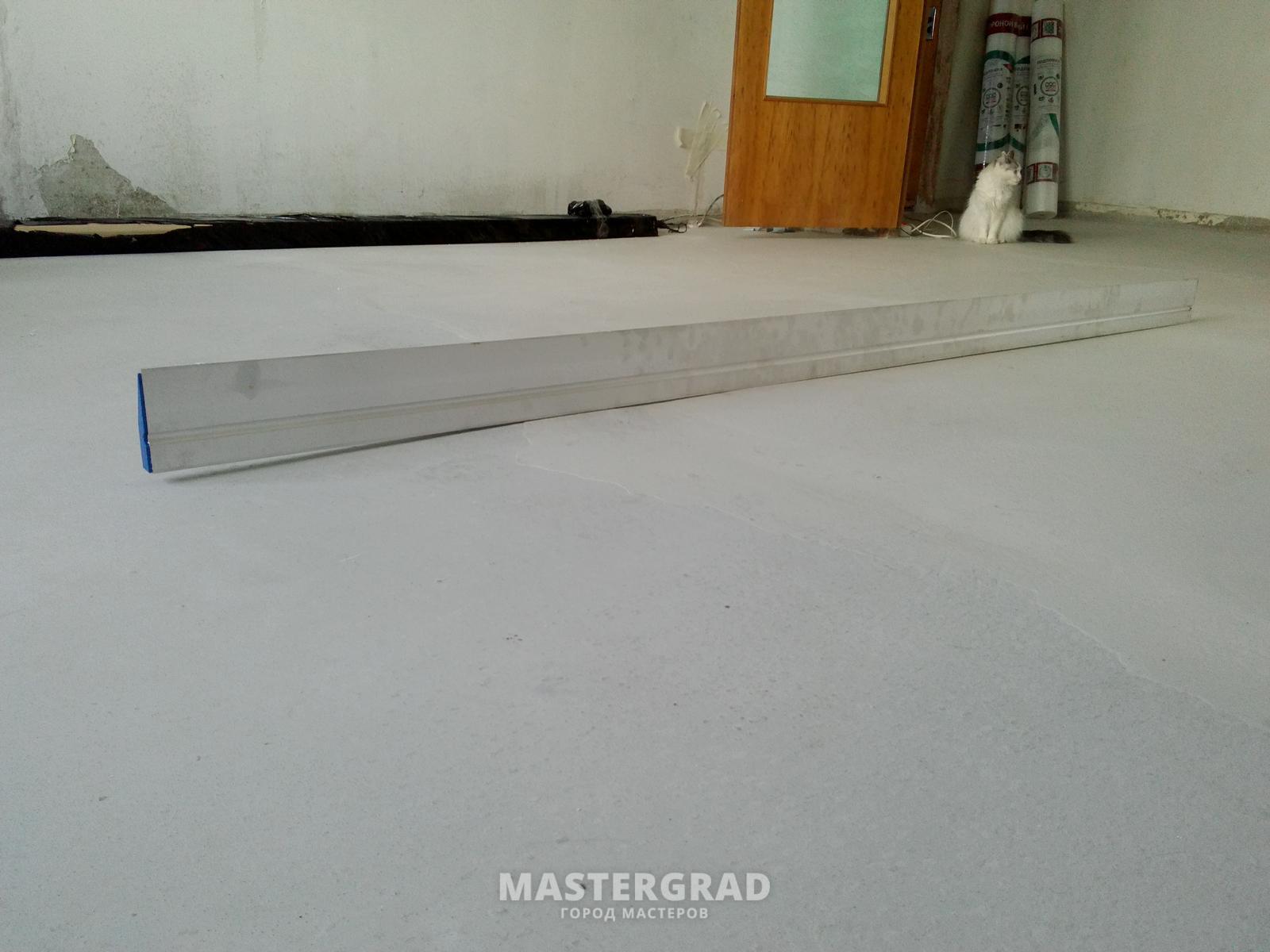 Что делать если наливные полы неровные делаем наливные полы с цементом