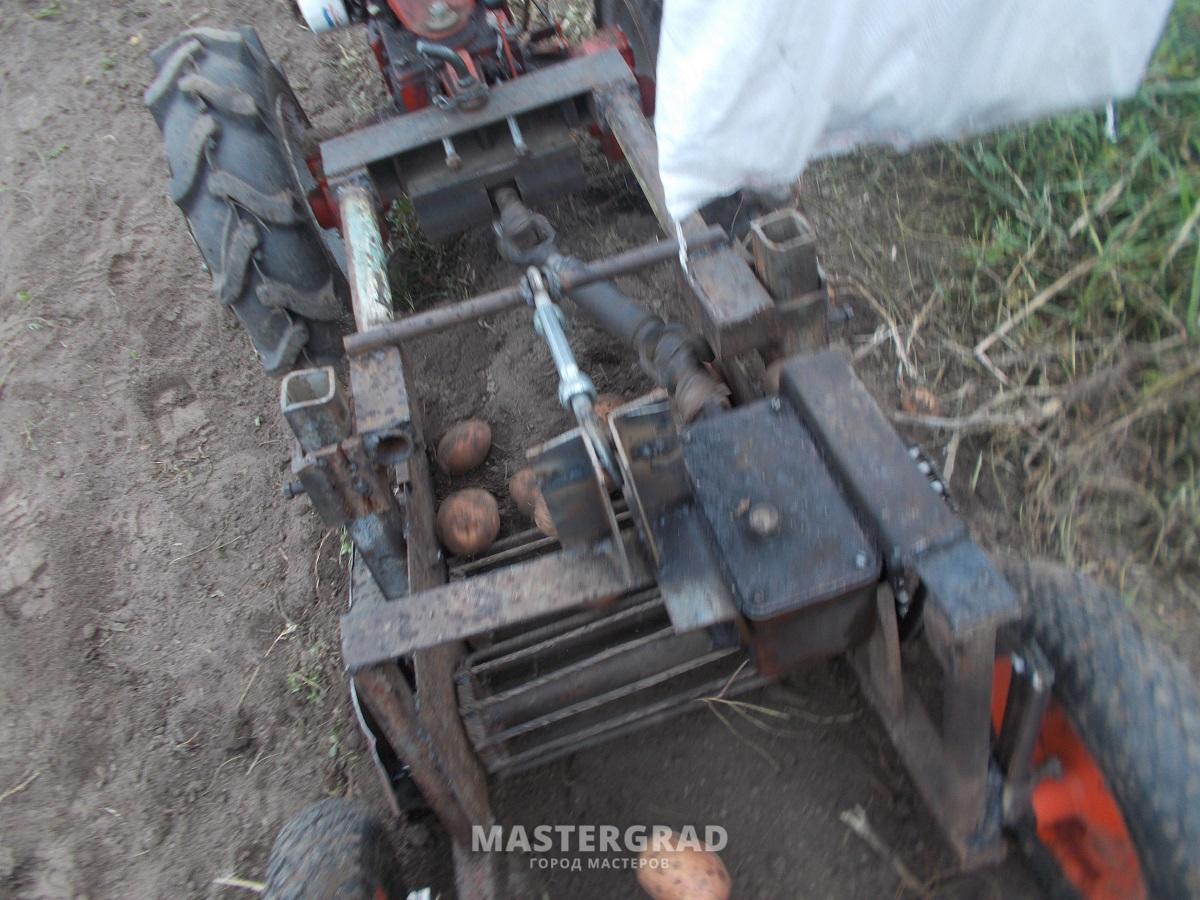 Роторная косилка для трактора мтз своими руками7