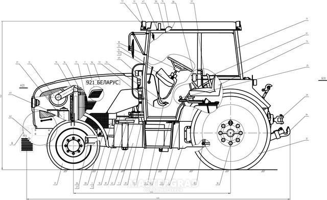Купить трактор МТЗ 921. Б/У или новый. Цены. Фото.