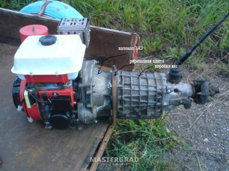 Самодельные минитрактора с двигателями от мотоблоков