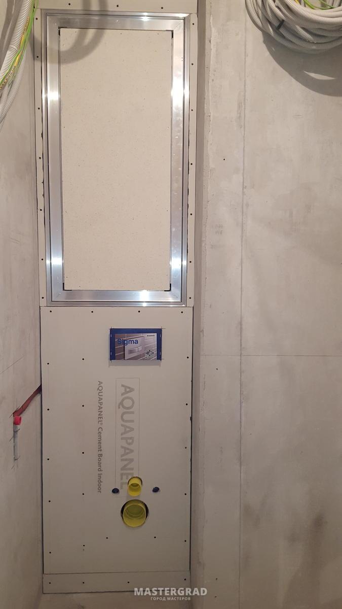 cement board indoor