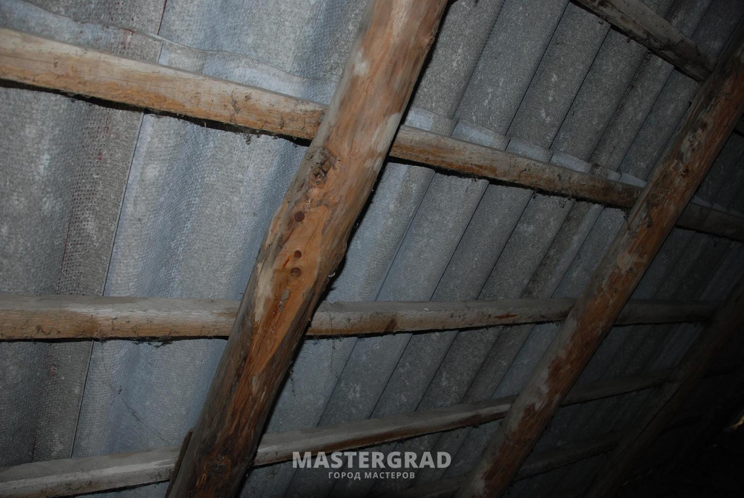 Как сделать потолок в старом доме фото