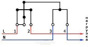 Счётчик гранит-1 схема