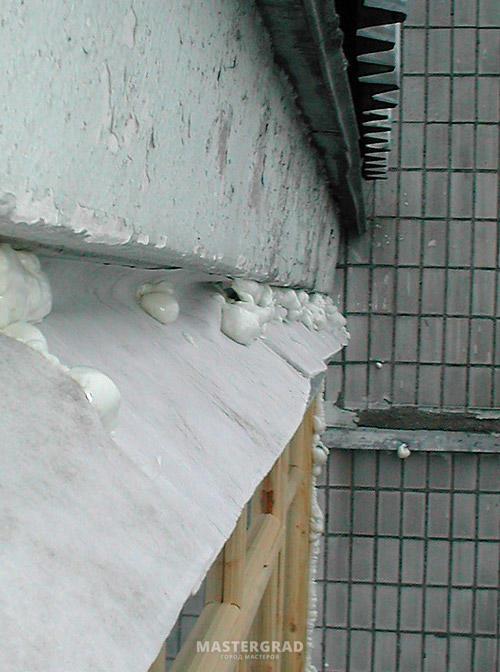 Можно ли защитить балконный козырек герленом. - металлопласт.