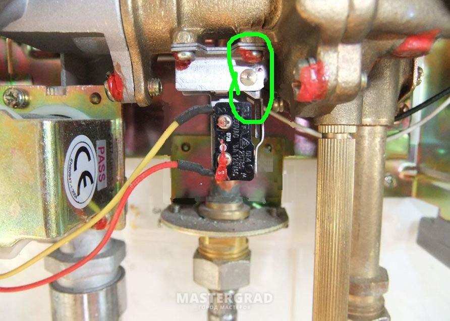 Газовые колонки вектор ремонт своими руками 18