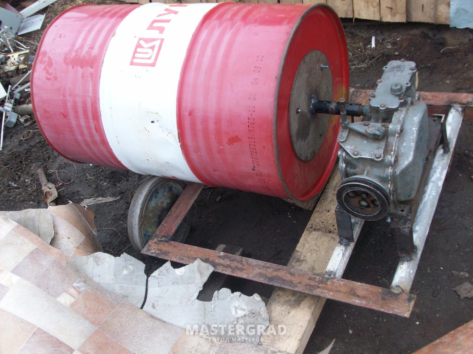 Изготовление бетономешалки