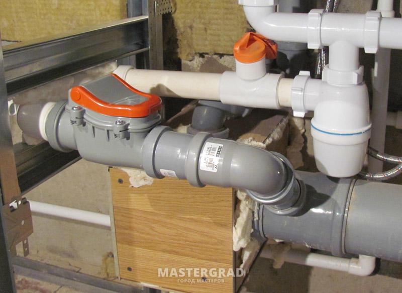 Установка обратного клапана на канализацию в квартире своими руками 7