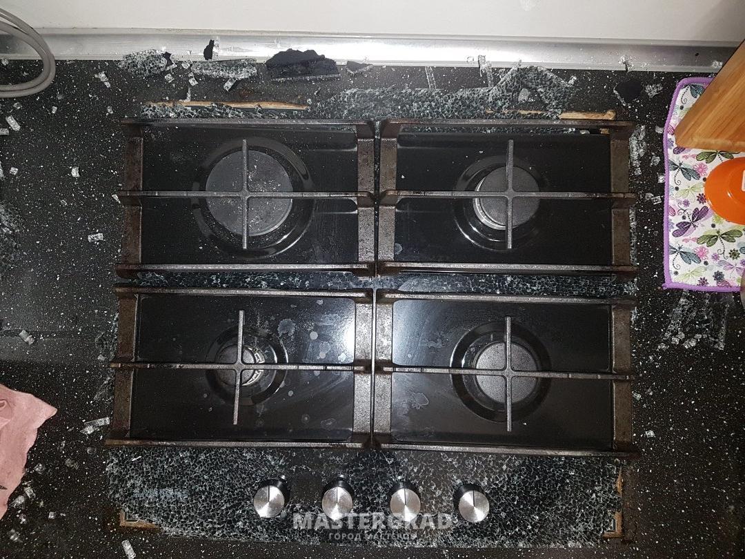 Огнеупорное стекло в духовке ремонт