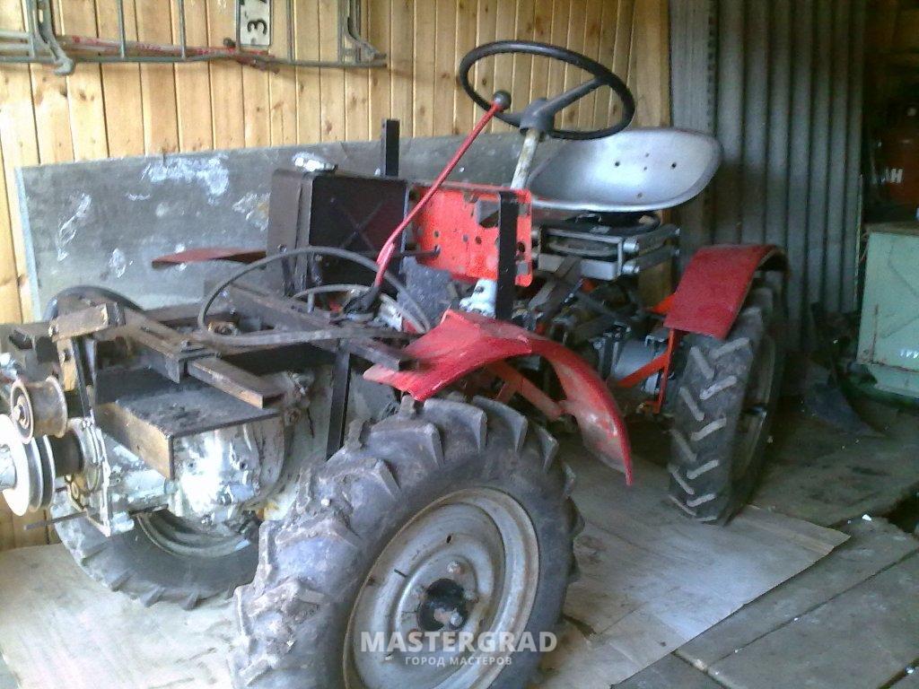 Минитрактор МТЗ 132 (трактор): технические характеристики