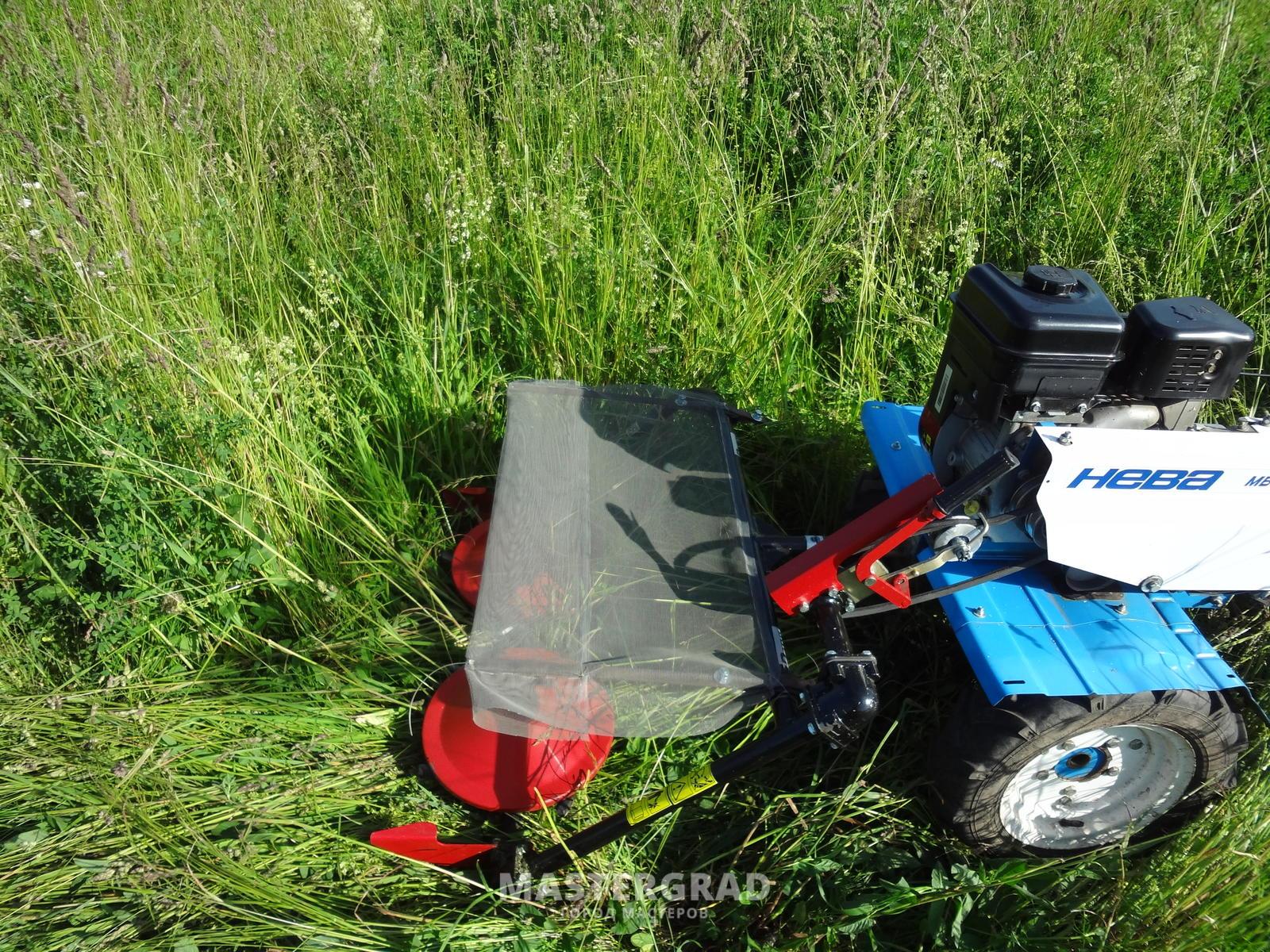 Роторная косилка для мотоблока своими руками : чертежи, видео инструкция 85