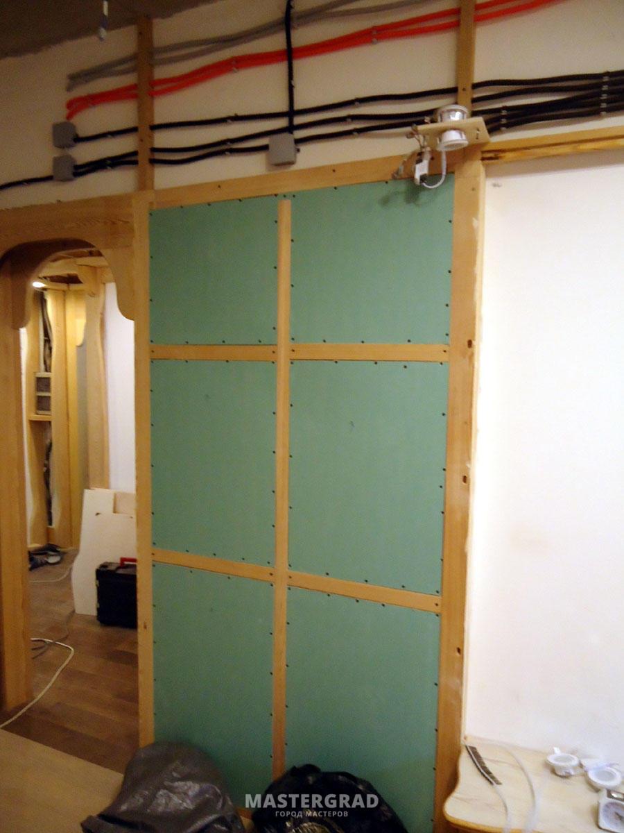 Стена своими руками пошаговая инструкция фото