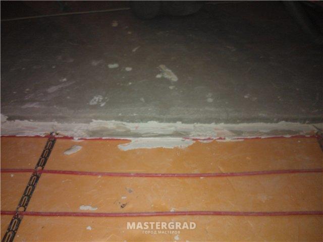 Стяжка на лоджии (фото) - фото- форум mastergrad.