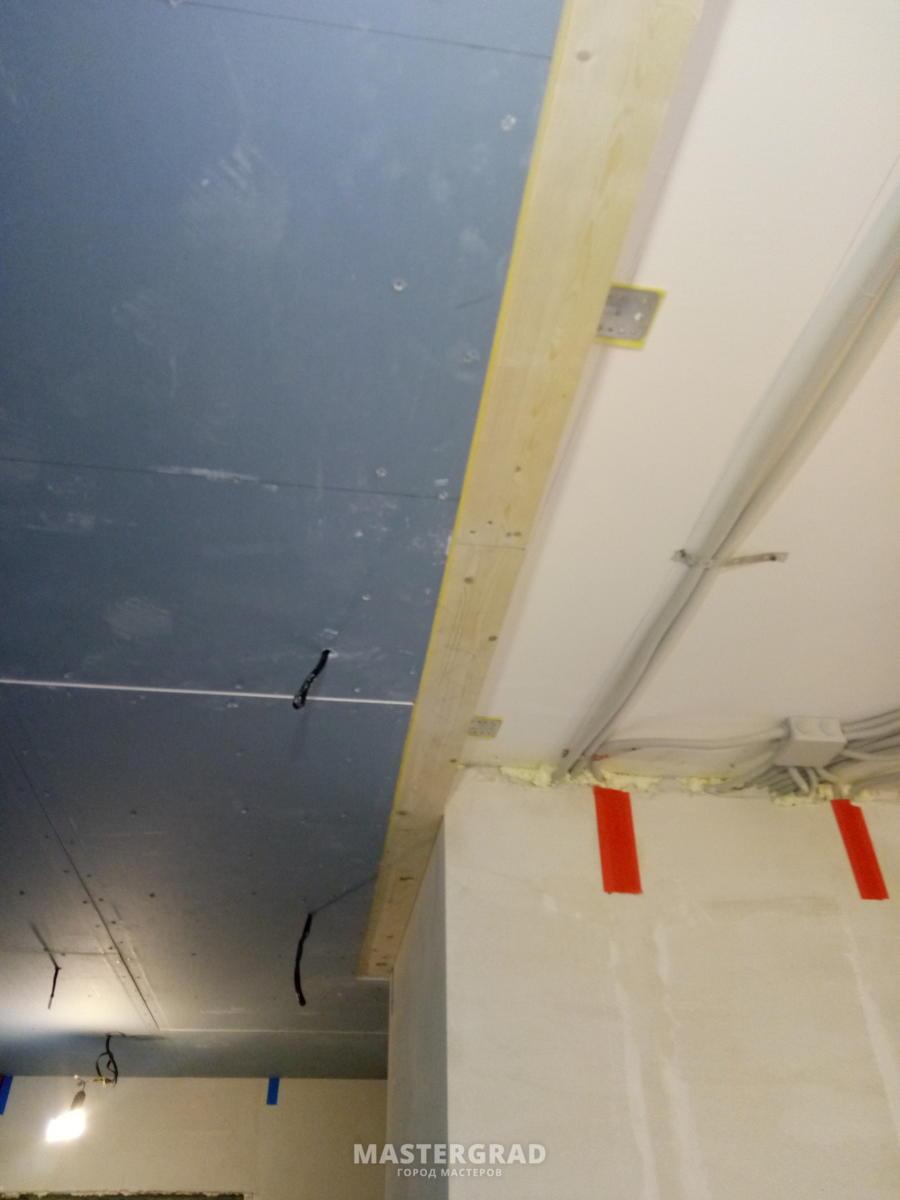 Шумоизоляция потолка и стен своими руками