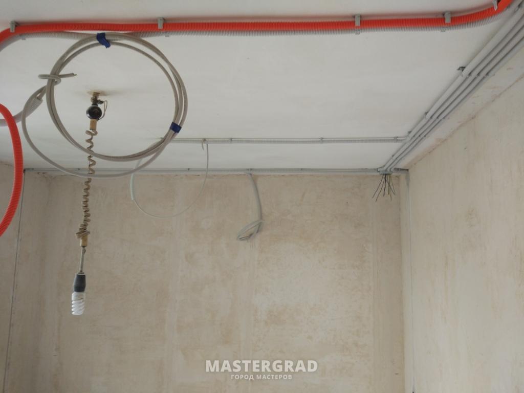Электромонтажные работы в квартире спб 2016