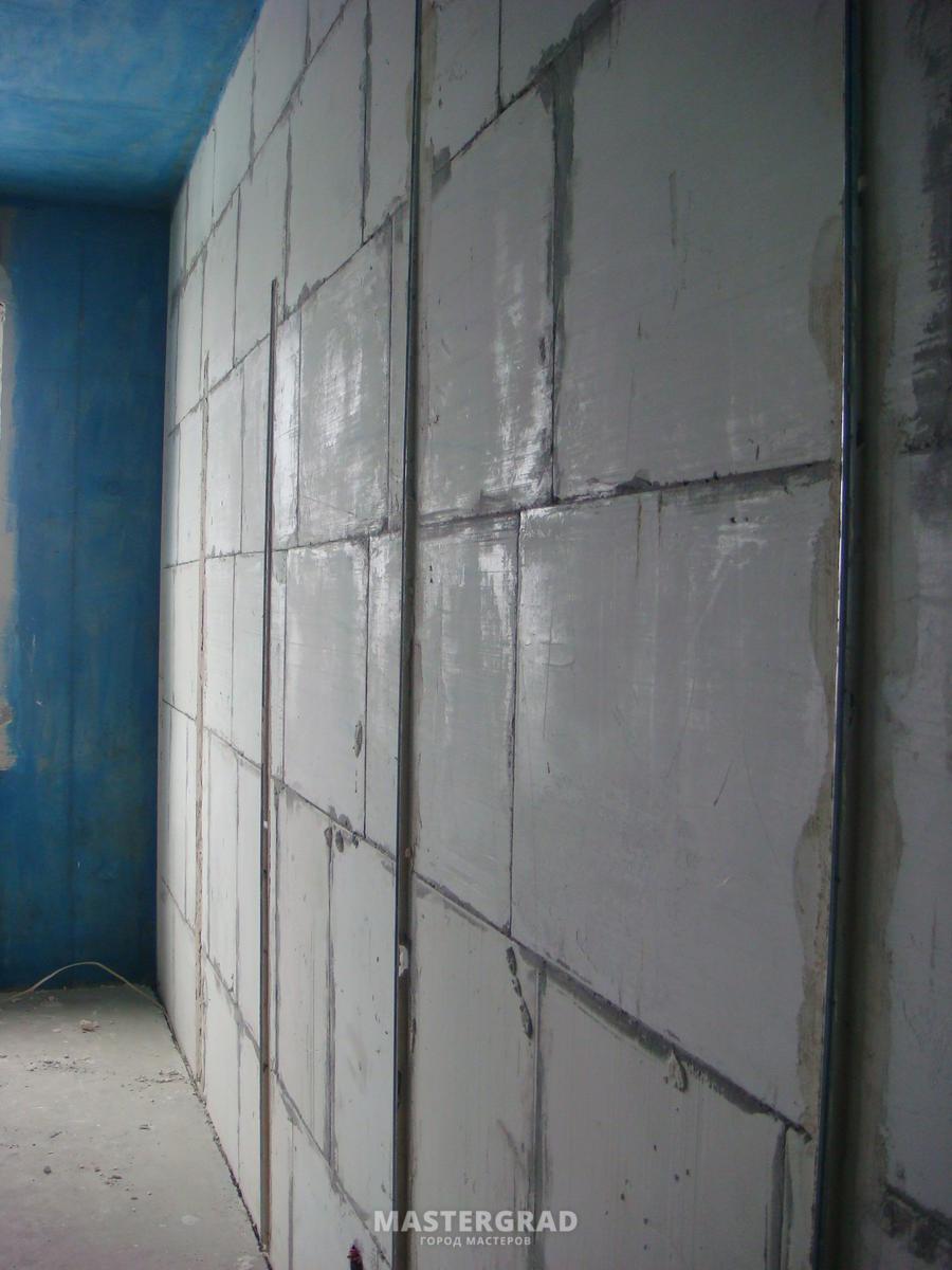 Как сделать ремонт стен в панельном доме