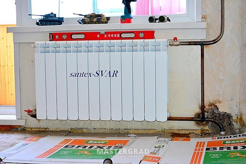 Как правильно подключить биметаллический радиатор? - фото - .
