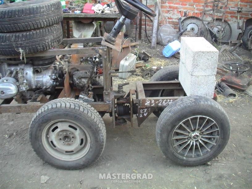 Самодельные трактора с движком о