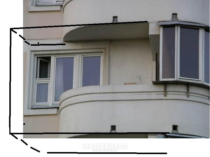 Застеклить балкон серия п3..