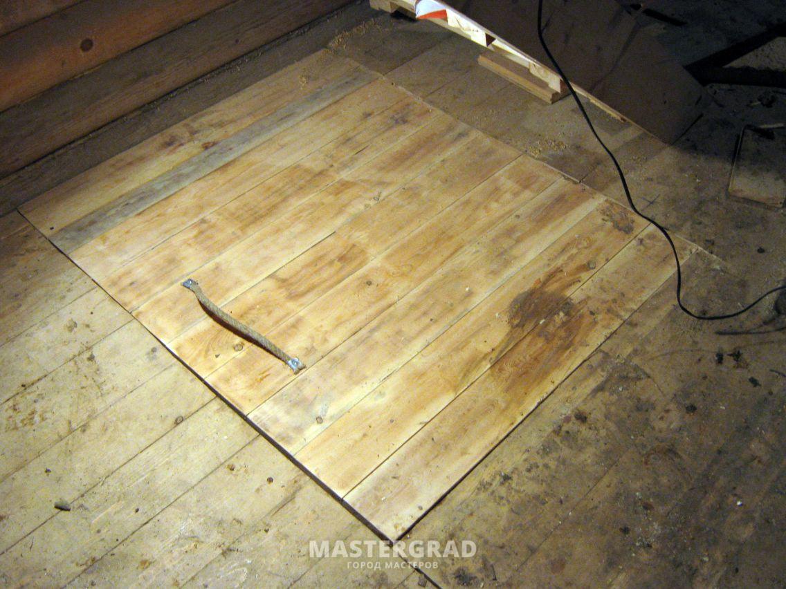 как сделать деревянный подпол