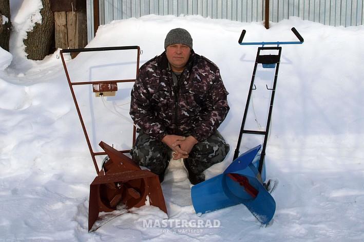 Снегоуборщик своими руками электро 64