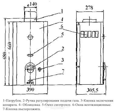 Газовая Колонка Нева 3212 Инструкция