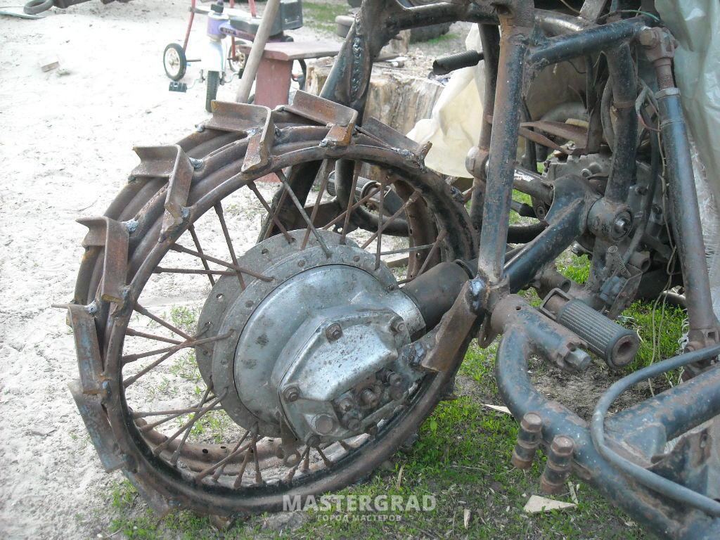 Как из мотоцикла сделать мотоблок