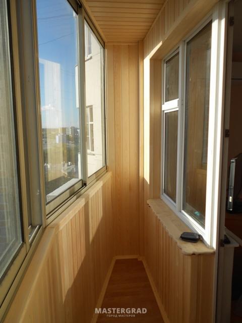 """Остекление балкона п 44 лодочка - """"пск конструкция"""" выполняе."""