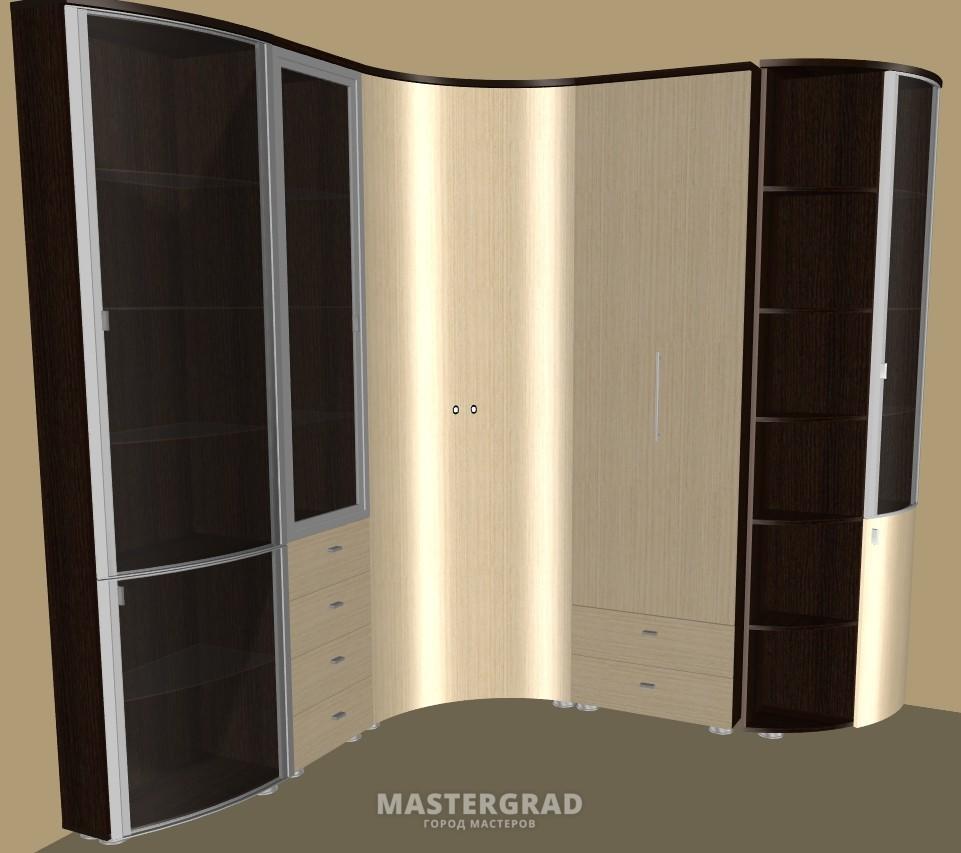 Мебель - гнутые фасады. - фото- форум mastergrad.