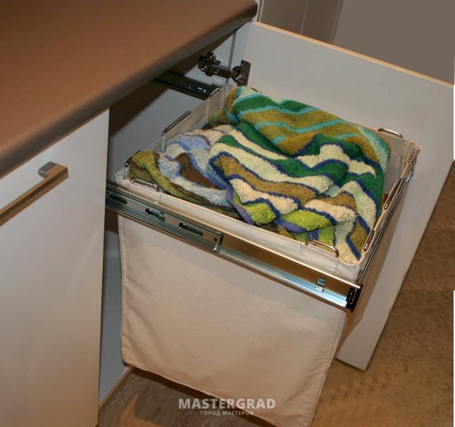 Шкаф с корзиной для белья своими руками