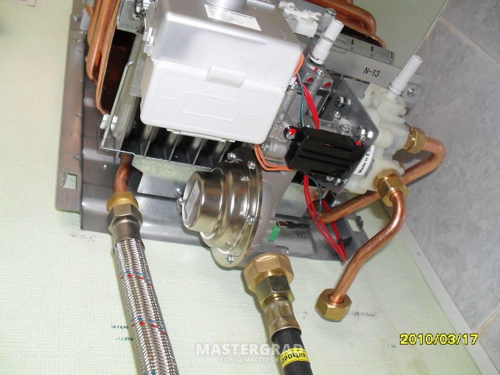 Ремонт колонок газовых электролюкс своими руками 67