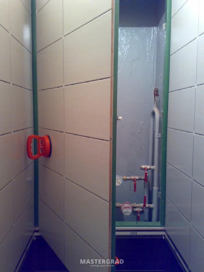 Установить люк в туалете своими руками 57