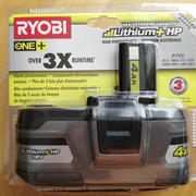 Аккумулятор Ryobi ONE+ P192 High Power 4Ач из США