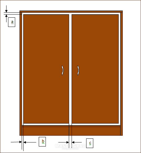 шкафы купе фото зазоры между дверьми