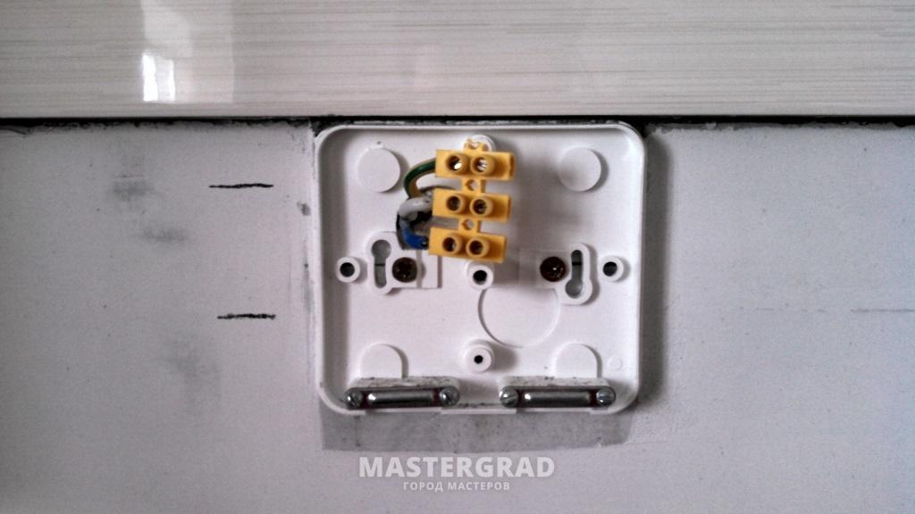 Самостоятельный монтаж и подключение электрической